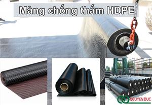 Màng chống thấm HDPE là gì?