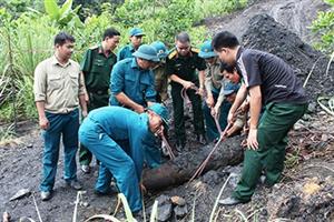 250kg bom tìm thấy ở Quảng Ninh