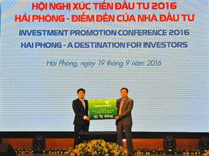 Vietcombank tài trợ 15 tỉ cho các doanh nghiệp tại Hải Phòng