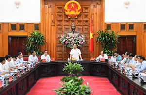 Thủ tướng làm việc với lãnh đạo Quảng Nam