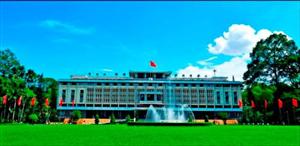 Kiến trúc Dinh Thống Nhất nổi tiếng ở Sài Gòn