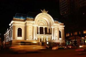 Kiến trúc nhà hát lớn Thành Phố Hồ Chí Minh
