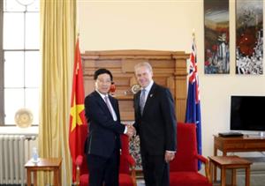 Phó Thủ Tướng Phạm Bình Minh thăm New Zealand