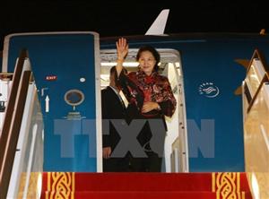 Hàng đầu Việt Nam lập pháp bắt đầu chuyến thăm UAE