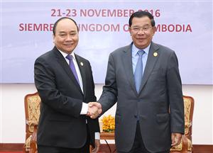 Campuchia bắt đầu chuyến thăm Việt Nam