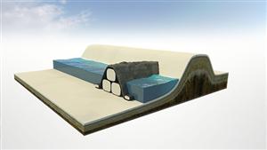 Vải địa kỹ thuật xây dựng cầu cảng