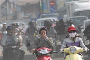 ô nhiễm không khí tại Hà Nội đạt mức nguy hiểm