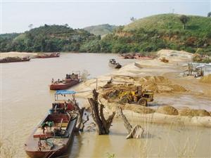 Các dự án nạo vét và khai thác cát trên sông Đồng Nai bị treo