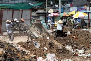 Thành phố Hồ Chí Minh tìm kiếm kế hoạch xử lý chất thải rắn
