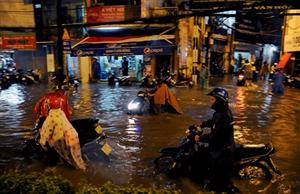 Thành phố Hồ Chí Minh chuẩn bị phòng chống thiên tai