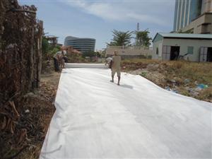 Tiêu chuẩn rải vải địa kỹ thuật và ứng dụng trong các công trình