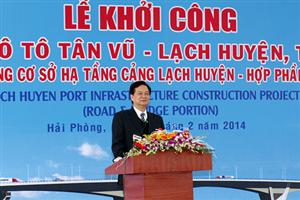 Dự án đường ô tô Tân Vũ – Lạch Huyện