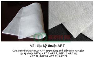 Các loại vải địa kỹ thuật ART