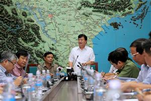 Việt Nam chuẩn bị cho cơn bão nhiệt đới Sarika